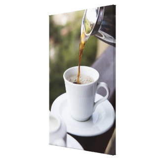 Food, Food And Drink, Coffee, Pour, Carafe, Canvas Print