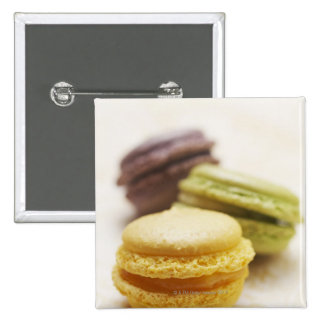 Food, Food And Drink, Dessert, Cookie, French, 2 Inch Square Button