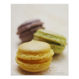 Food, Food And Drink, Dessert, Cookie, French, Poster