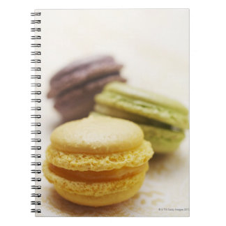 Food, Food And Drink, Dessert, Cookie, French, Spiral Notebook