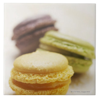 Food, Food And Drink, Dessert, Cookie, French, Large Square Tile