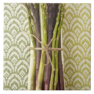 Food, Food And Drink, Vegetable, Asparagus, Ceramic Tile