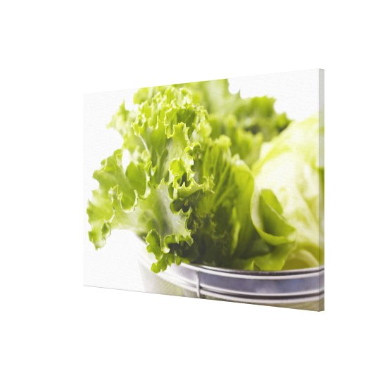 Food, Food And Drink, Vegetable, Lettuce, Canvas Print