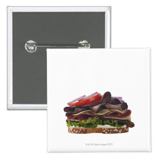 Food, Food And Drink, Wheat, Bread, Oat, Mayo, 2 Inch Square Button