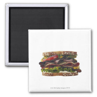 Food, Food And Drink, Wheat, Bread, Oat, Mayo, 2 Refrigerator Magnet