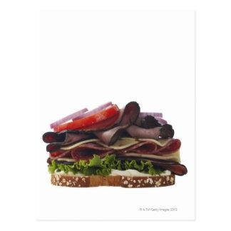 Food, Food And Drink, Wheat, Bread, Oat, Mayo, Postcard