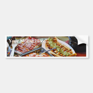 Food For Diner Bumper Sticker