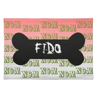 food for fido place mats