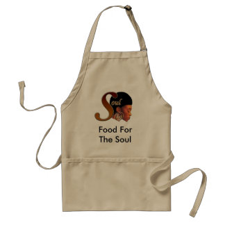 Food For The Soul Adult Apron