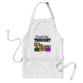 Food for Thought Adult Apron