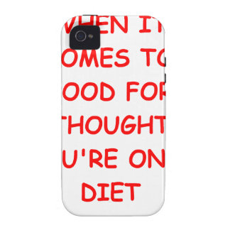 food for thought vibe iPhone 4 cases