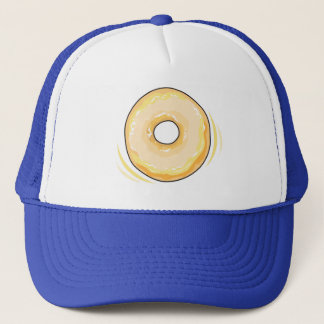 Food For Thought_Glazed Jelly Donut Trucker Hat