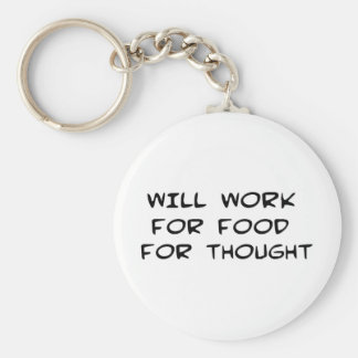 Food for Thought Keychain