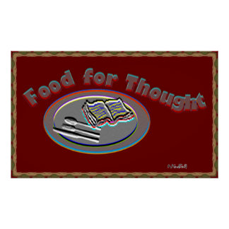 Food For Thought poster-2 Poster