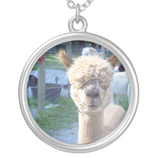 Food for Thought Round Pendant Necklace