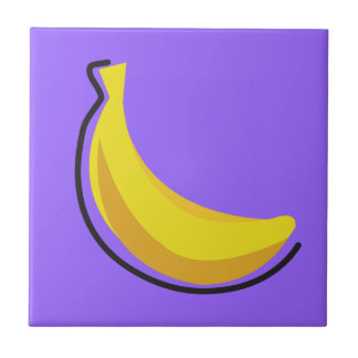 Food For Thought_Totally Fruity_banana Tile
