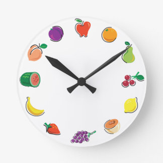 Food For Thought_Totally Fruity Wall Clock