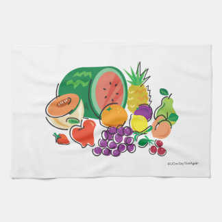 Food For Thought_Totally Fruity_cornucopia Towel