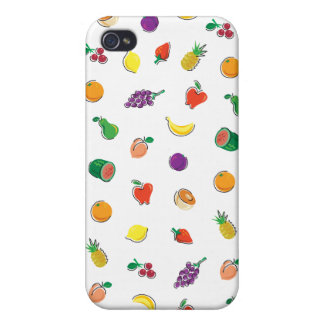Food For Thought_Totally Fruity_Pattern iPhone 4 Cases