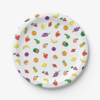Food For Thought_Totally Fruity_Pattern Party Time Paper Plate