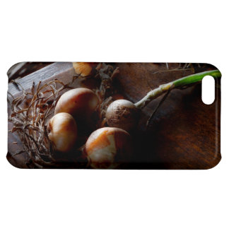 Food - Freshly pulled onions Cover For iPhone 5C