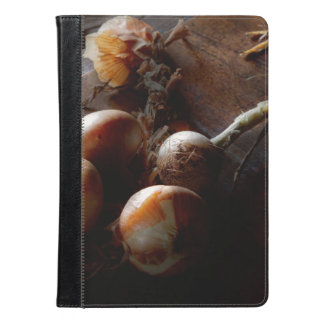 Food - Freshly pulled onions iPad Air Case
