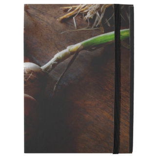 Food - Freshly pulled onions iPad Pro Case