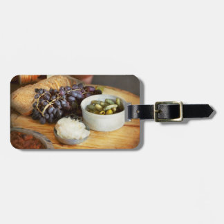 Food - Fruit - Gherkins and Grapes Bag Tag