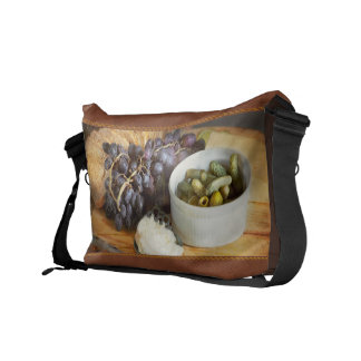 Food - Fruit - Gherkins and Grapes Courier Bag