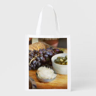 Food - Fruit - Gherkins and Grapes Grocery Bag