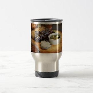 Food - Fruit - Gherkins and Grapes Travel Mug