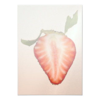 Food - Fruit - Slice of Strawberry Announcement
