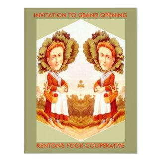 FOOD GARDEN FARM COOPERATIVES CO-OP INVITATIONS! CARD