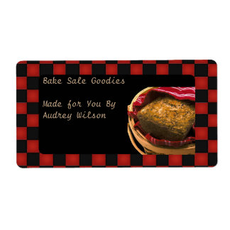 Food Gift From Your Personalized Kitchen Shipping Labels