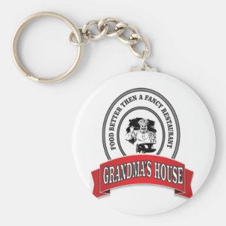 food grandmas house good keychain