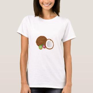 FOOD GRAPHICS COCONUT KIWI FRUIT STRAWBERRY GRAPHI T-Shirt