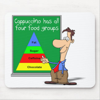 Food Groups Mouse Pad