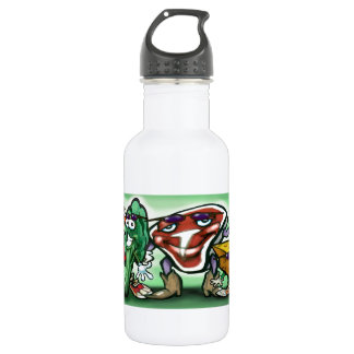 Food Groups Stainless Steel Water Bottle