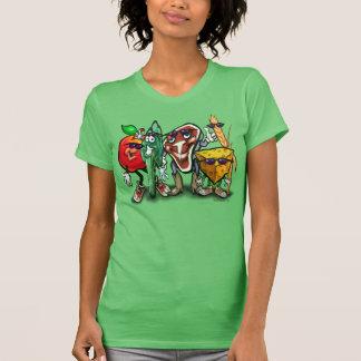 Food Groups Tee Shirts