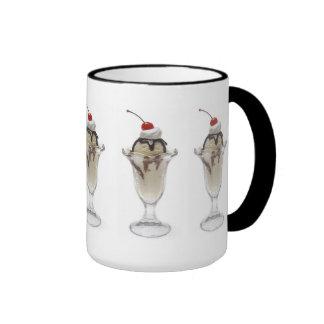 Food:  Ice Cream Ringer Coffee Mug