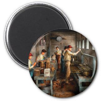 Food - Ice Cream - Sanitary ice cream cones 1917 2 Inch Round Magnet