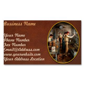 Food - Ice Cream - Sanitary ice cream cones 1917 Magnetic Business Card