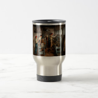 Food - Ice Cream - Sanitary ice cream cones 1917 Travel Mug