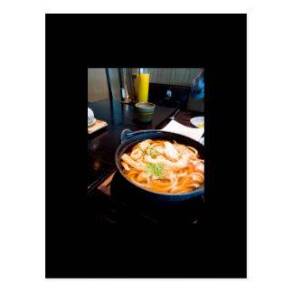 Food in Japan Postcard