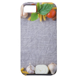 Food ingredients are installed as a frame iPhone SE/5/5s case