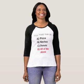 Food Interview T-Shirt