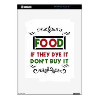 Food iPad 2 Decals