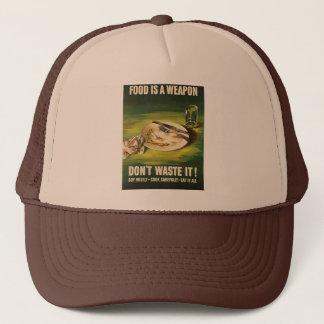 Food Is A Weapon - WW2 Trucker Hat