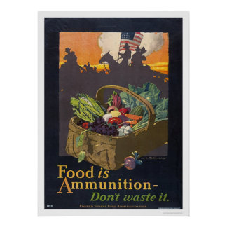 Food is Ammunition Print