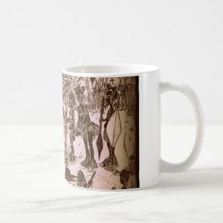 Food is eaten or coffee mug